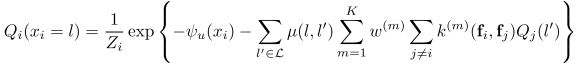 计算概率函数 CRF as RNN的原理及Caffe实现 AI资讯 第8张