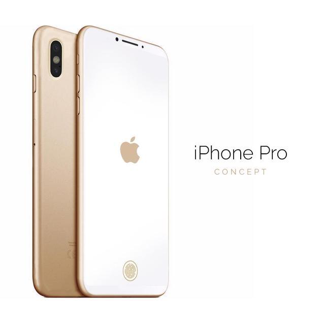 iPhone Pro概念美图:6.0英寸全面屏+AR双摄