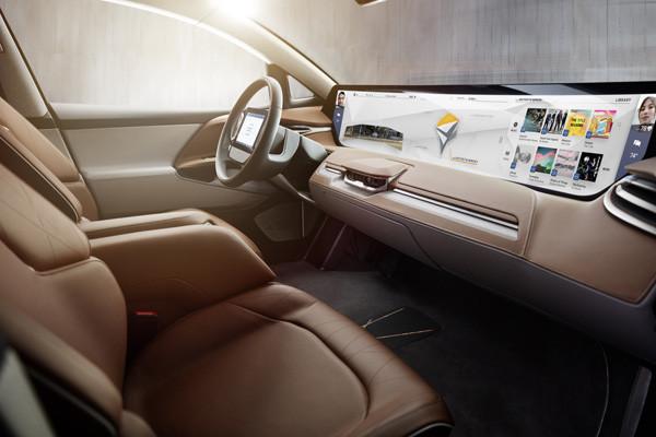 拜腾首款纯电动SUV Concept亮相 配全球最大车载屏幕