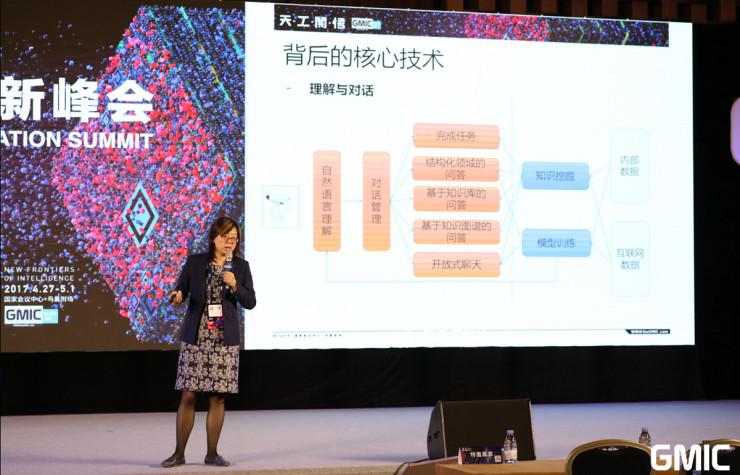 阿里云 iDST 总监初敏博士:AI技术发展与商业化之路 | GMIC 2017