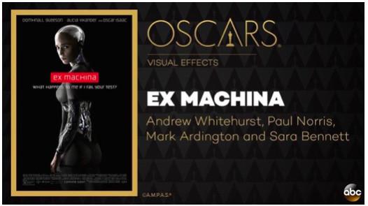 《机械姬》为什么能获得奥斯卡最佳视觉特效奖?