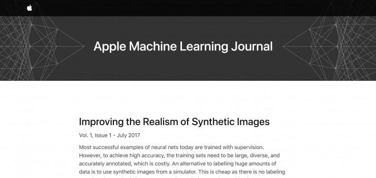 苹果机器学习博客姗姗来迟,不过第一篇文章就给紧缺训练数据的研究者们发糖