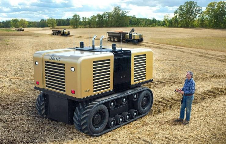 """农业领域的自动驾驶潜力有多大?这家公司想在五年内实现""""无人农场"""""""