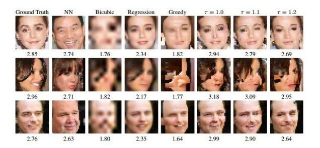 谷歌大脑最新技术:将马赛克还原成清晰图像