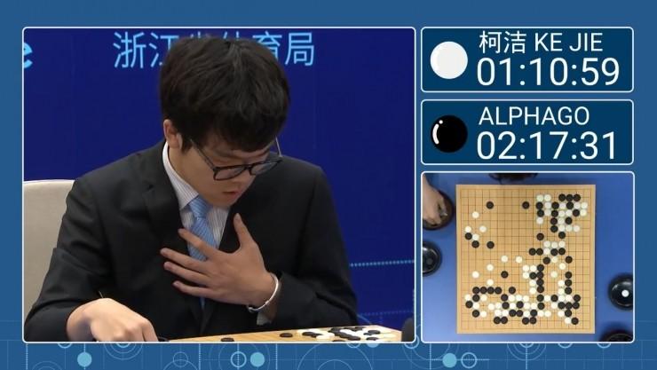 柯洁赛后评价第二盘棋:紧张导致了输棋,但是想再来一场刺激的