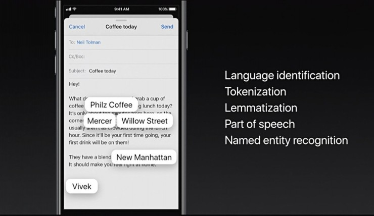苹果开放机器学习API,但是没有看到苹果的机器学习开发平台