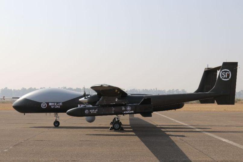 腾盾双尾蝎进军物流航空 顺丰实现用中大型无人机空投