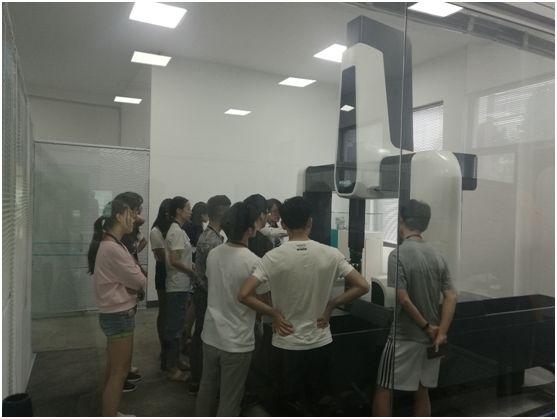 温泽工厂开放日:零距离接触世界前沿测量技术