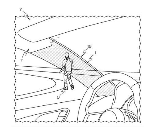"""丰田申请""""隐形装置""""专利 告别A柱视线盲区"""