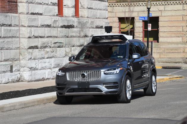 Uber自动驾驶汽车再出事故:人员受轻伤